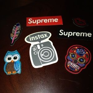 stickers & patches FREE